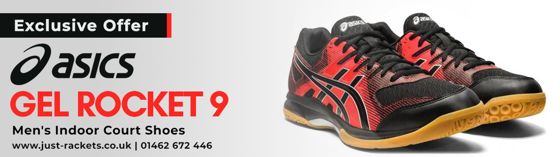 Asics Gel Rocket Main 9 Banner