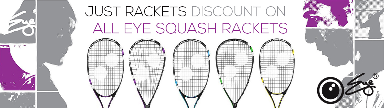 Eye Sqush Rackets Discounts
