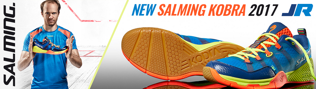 Salming Mens Kobra Squash Shoes 2017