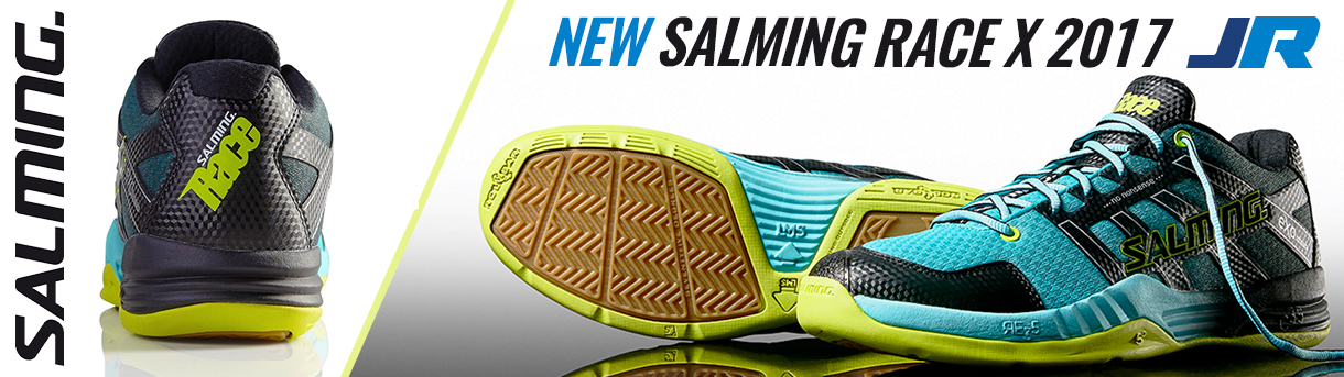 Salming Mens Race X Squash Shoes 2017