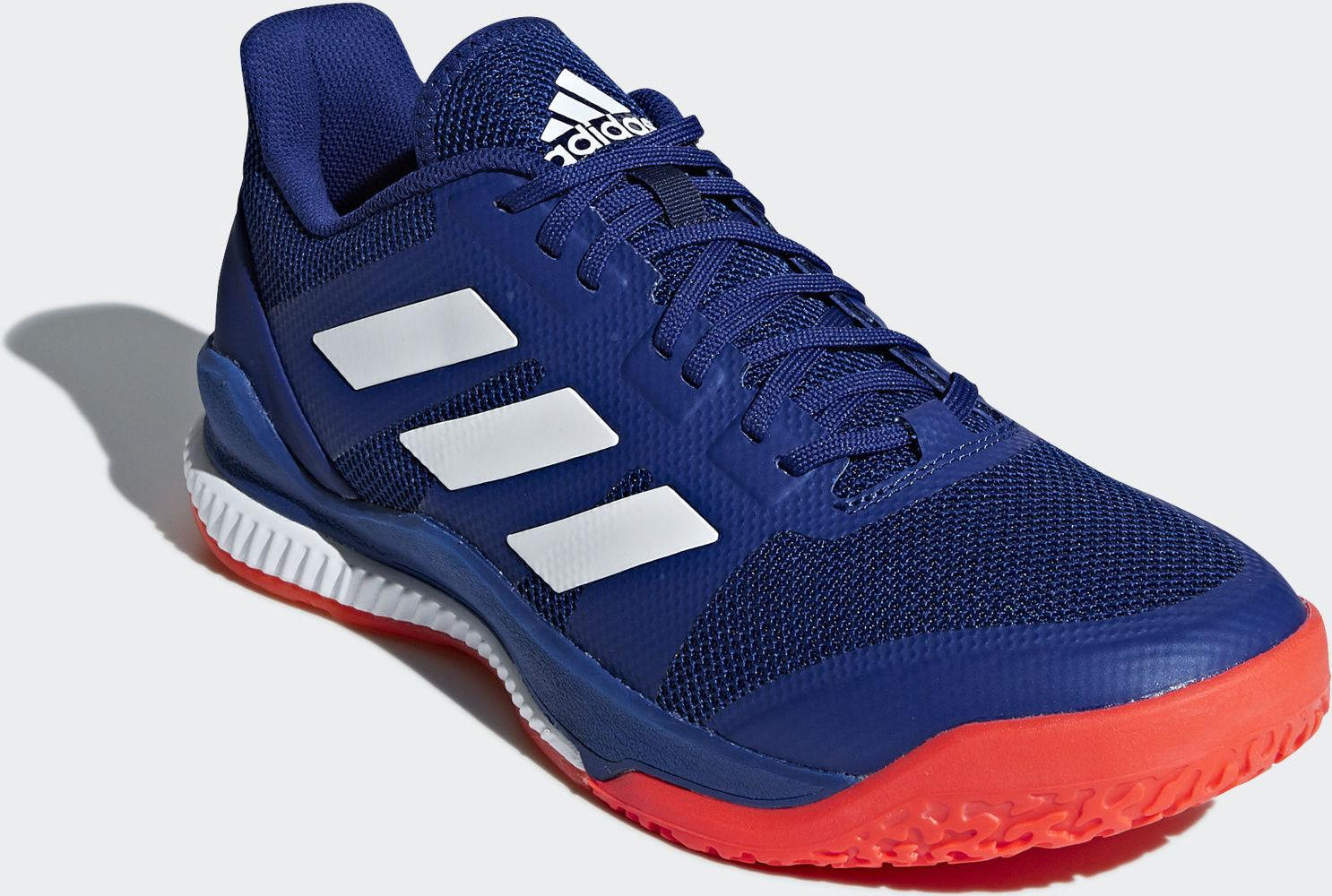 043ecbb83 Adidas Stabil Bounce Court Shoes - Blue - Just Rackets