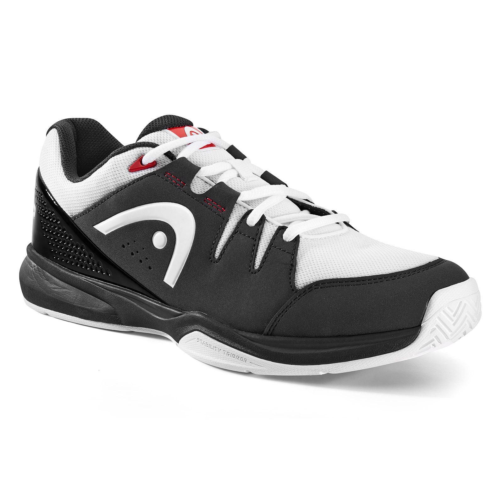 1d7c70aac Head Grid 3.0 Squash   Indoor Court Shoe (Black White) - Just Rackets