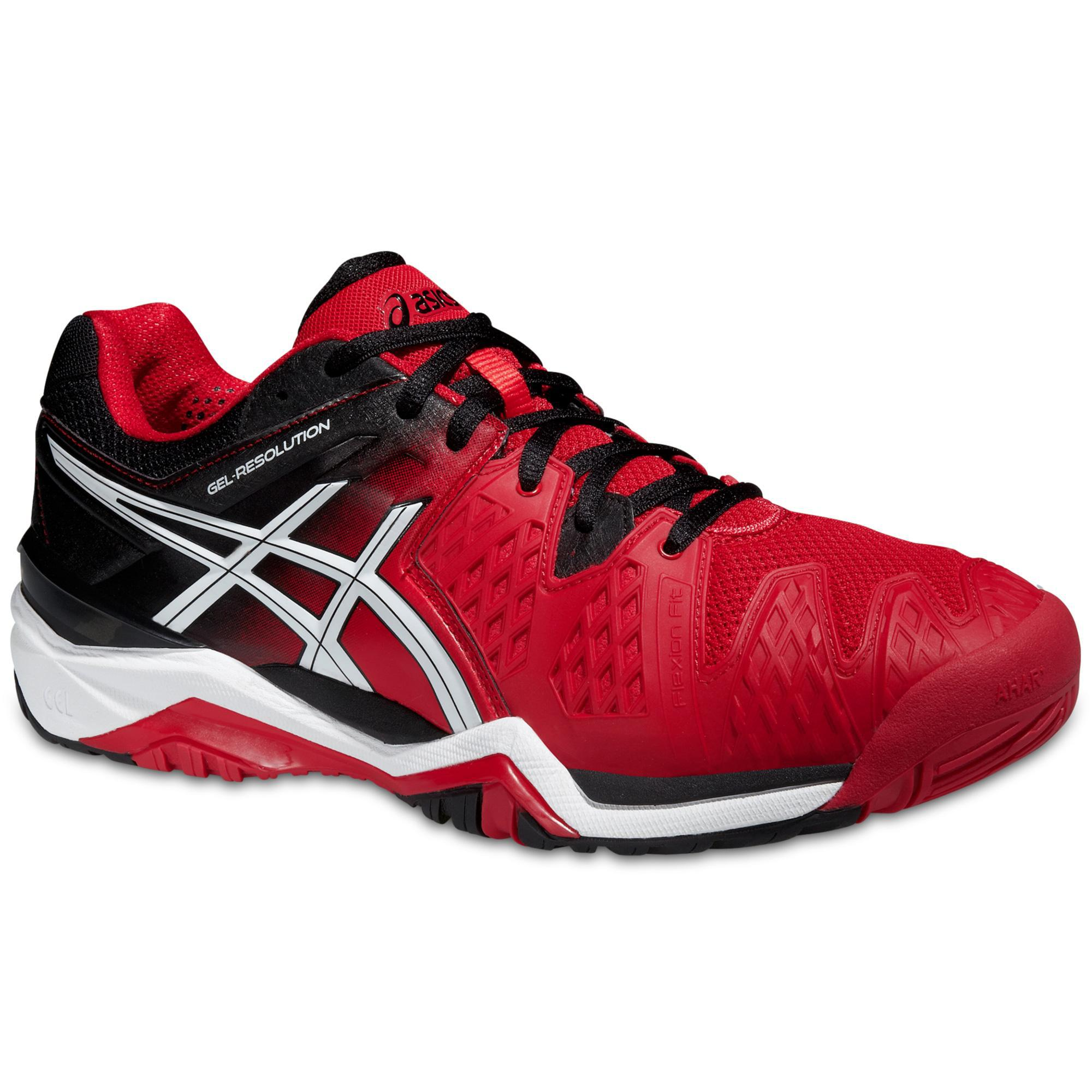 Raquettes 6 Asics Gel Resolution 6 Fiery Rouge Rouge// Noir/ Blanc 7ac6266 - kyomin.website