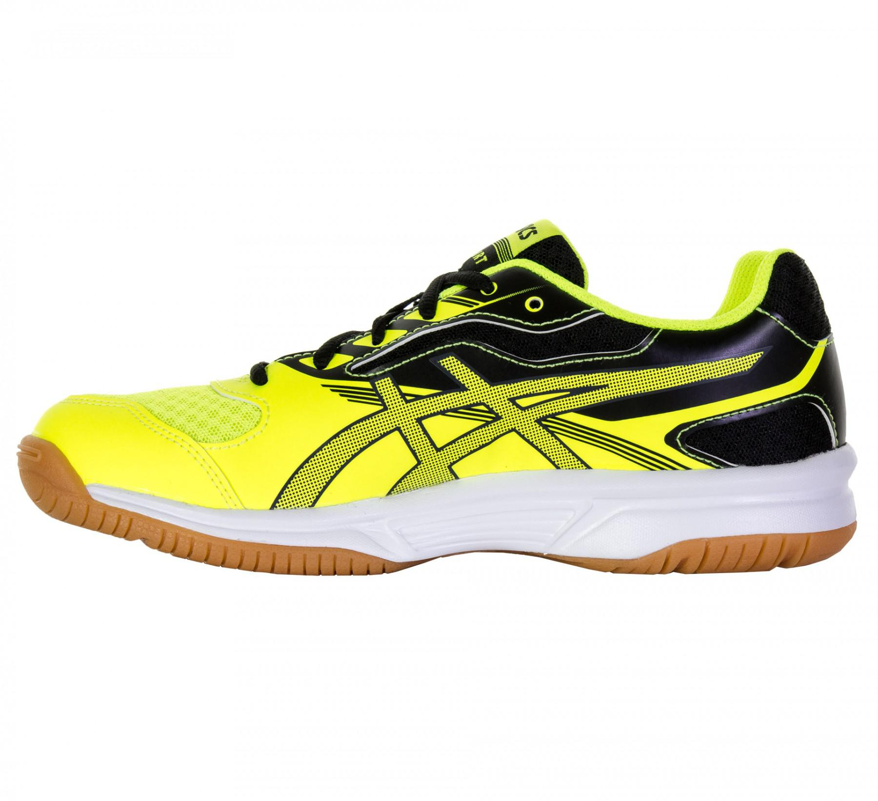 d63e24232b0 Asics Kids GEL-Upcourt 2 GS Indoor Court Shoes - Safety Yellow/Black ...