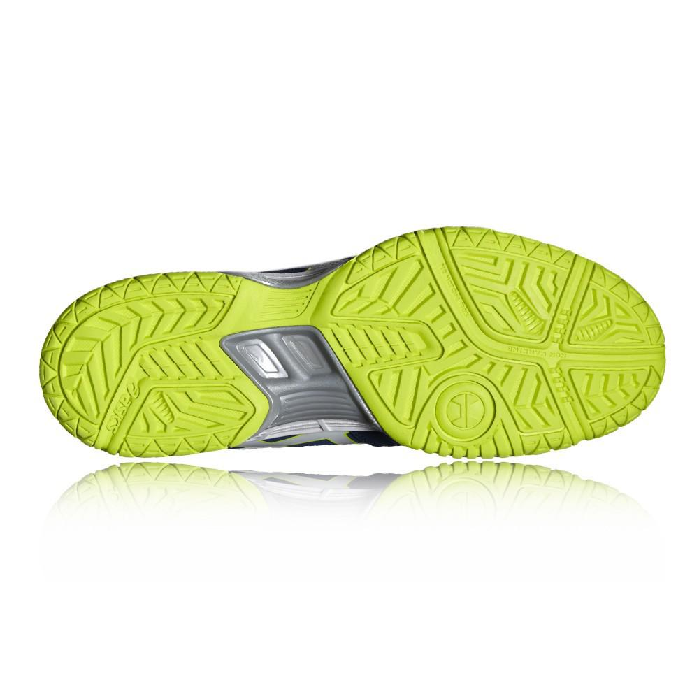 2070217498 Asics Gel Hunter Shoes Poseidon/White/Safety Yellow