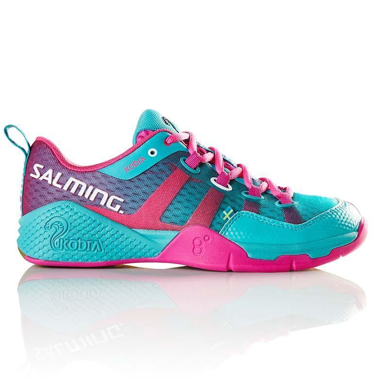 Indoor Court Shoes - Turquoise