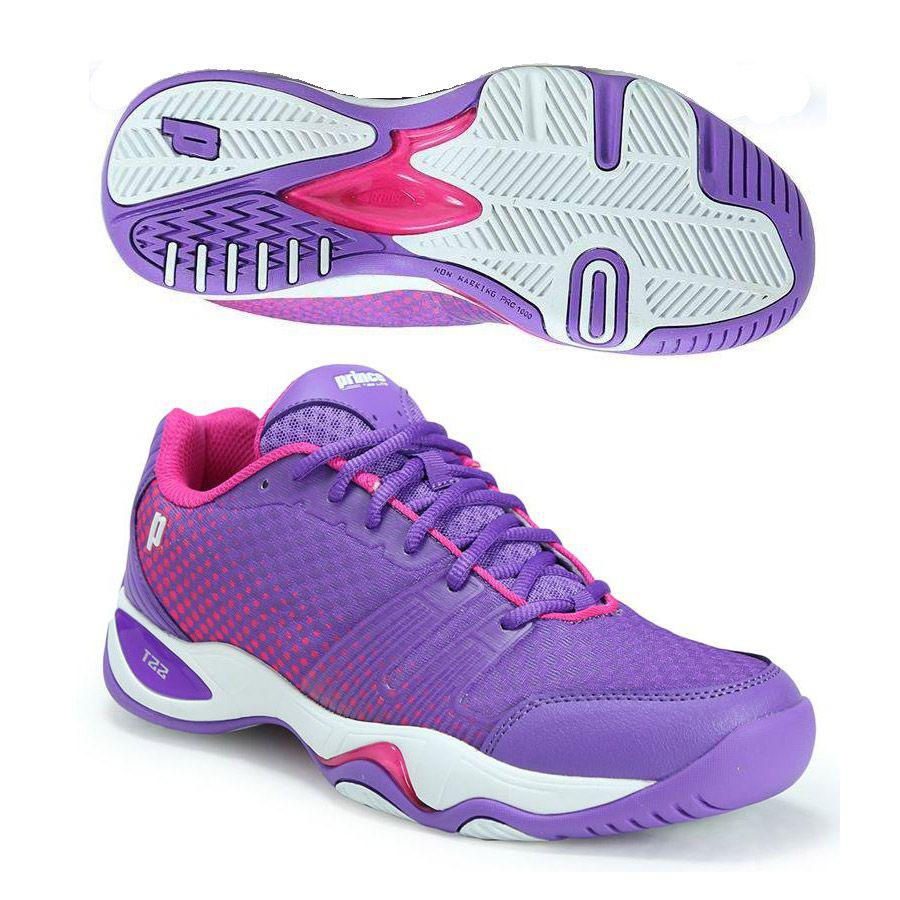 0fe6911efc3a Prince Ladies T22 Lite Tennis Shoes - Just Rackets