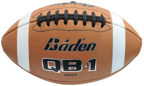 Baden QB1 Deuce Leather Game Football Official Size